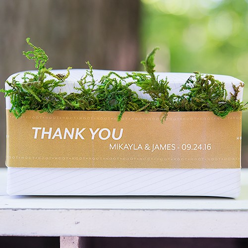 Roll of Faux Moss Ribbon - Wedding Wonders