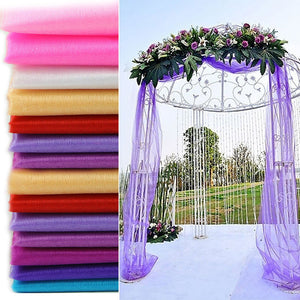 Tulle Wedding Arch Decoration Fabric - ${product type}