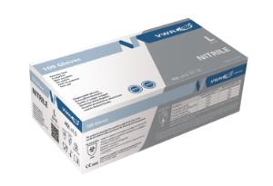 "9"" Nitrile Gloves 3.5gm  Certified for laboratory use in pharmaceutical, industrial and medical)"