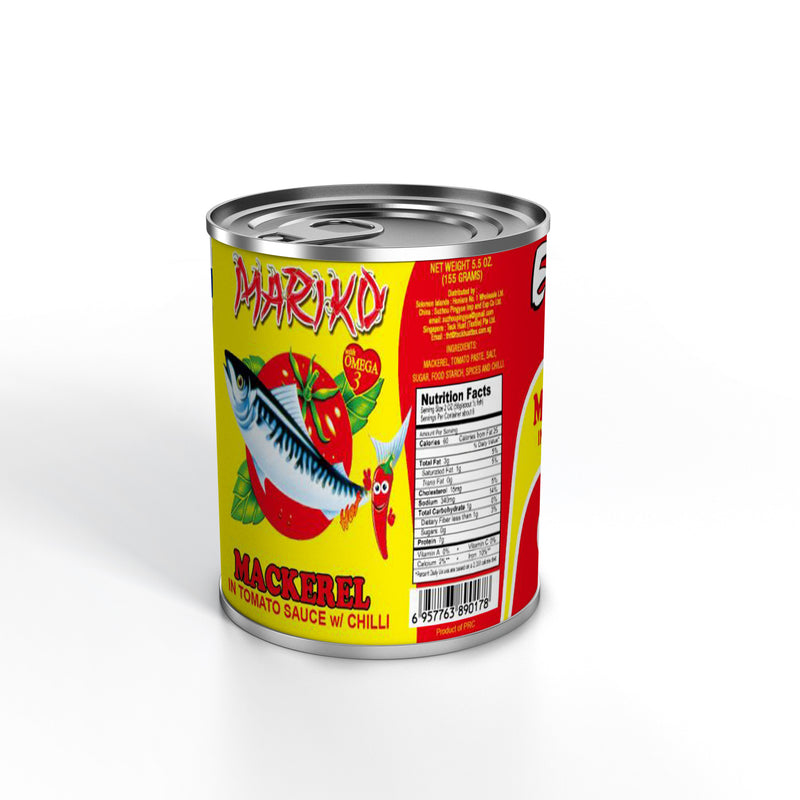 Mackerel Canned in Spicy Tomato Sauce 24 x 425g