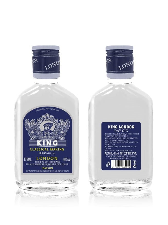 King London Gin  24 x 175ml Alc vol.40%