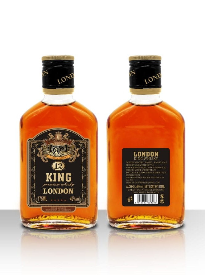 King London Whiskey 6 x 700ml Alc vol.48%