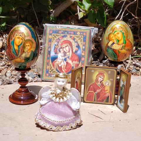 Icons, Religious Eggs and Angels