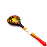 Russian Traditional Wooden Spoon with Strawberry