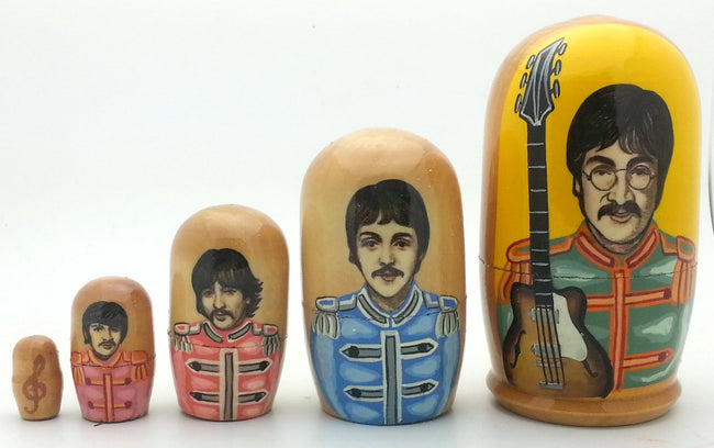 buyrussiangifts-store - Beatles Seg.Pepper Nesting Set 4