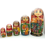 buyrussiangifts-store - Ruslan and Ludmila Nesting Doll Set - BuyRussianGifts Store - Nesting doll