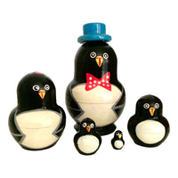 Penguin Russian stacking dolls