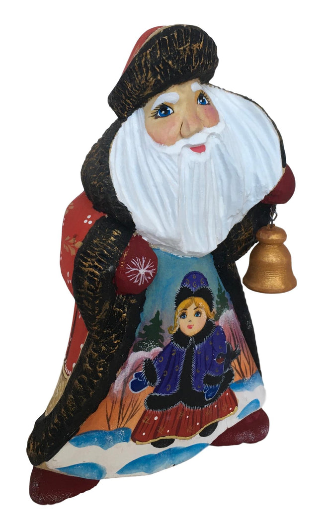 Ded moroz and grandfather