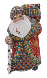 Russian Santa wooden figures