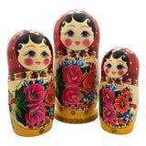 Authentic Russian stacking dolls