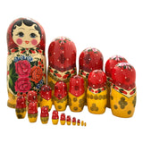 20 piece set nesting dolls