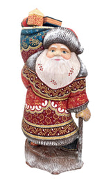 Collectible Russian wooden Father Frost