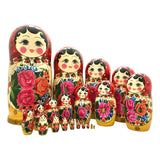 Large stacking dolls