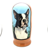 "Boston Terrier Dog Breed Nesting Doll 7"" Tall Set"