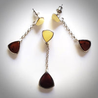 cherry butterscotch amber jewelry set