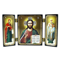 buyrussiangifts-store - Triptych Christ Pantocrator - BuyRussianGifts Store - Souvenirs