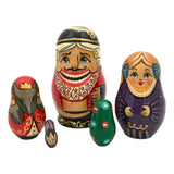 Russian nesting dolls fairytale