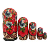 Russian nesting dolls storyteller