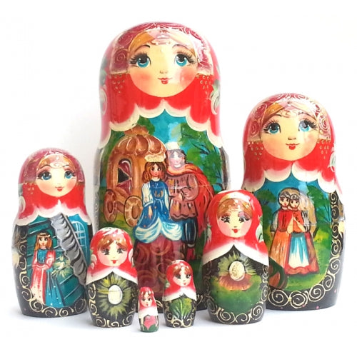 Cinderella 7 Piece Nesting Doll Set