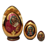 Russian dolls Virgin Mary and baby Jesus