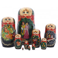 Firebird 10 Piece Nesting Fairy Tale Doll Set