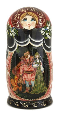 Firebird Russian Fairy Tale Doll 7 Piece Set