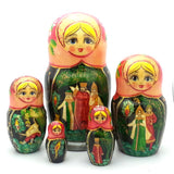 Story of the Firebird Matryoshka Doll Nesting Set
