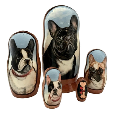 French Bulldog matryoshka