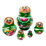 Green Miniature Matryoshka