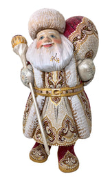 Wooden Father Frost from Russia