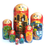 buyrussiangifts-store - The Humpbacked Horse Nesting Doll Set - BuyRussianGifts Store - Nesting doll