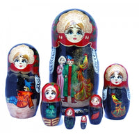 Ivan Tsarevich and Firebird Doll 7 Piece Set