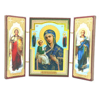 buyrussiangifts-store - Jerusalem Mother of God Triptych - BuyRussianGifts Store - Souvenirs