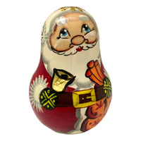 Jingle bell russian Santa doll
