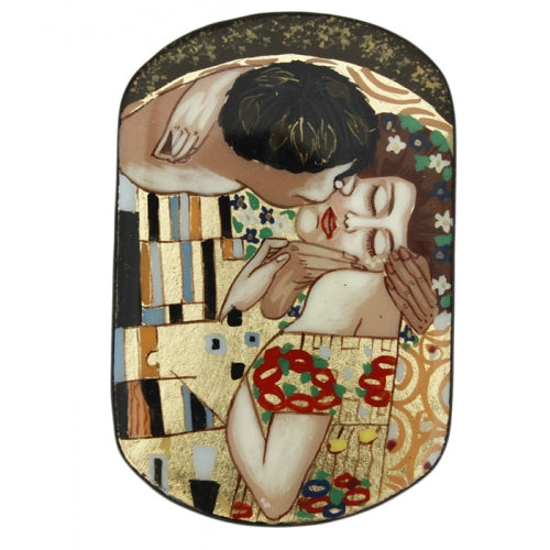 Lacquer Box Inspired the Kiss by Gustav Klimt