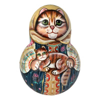 Cat kitty Russian doll
