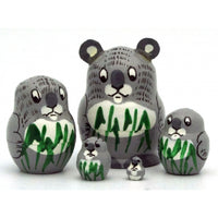 Koala Miniature Nesting Doll Set