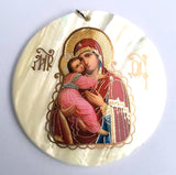 Our Lady of Vladimir Religion Pendant