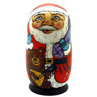 buyrussiangifts-store - Santa with Friends Nesting Doll Set - BuyRussianGifts Store - Nesting doll