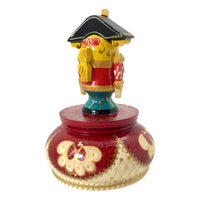 Musical box nutcracker