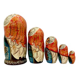 Russian winter nesting dolls