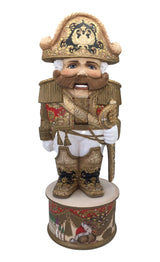 Unique wooden carved figurine nutcracker