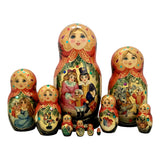 Russian fairytale matryoshka