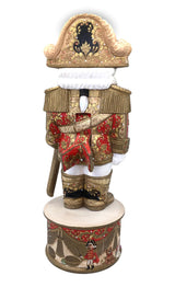 Nutcracker carved wood figurine