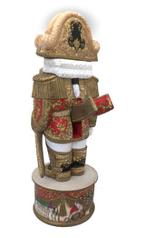 Russian artwork wood carved nutcracker