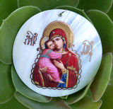 Our Lady of Vladimir pendant