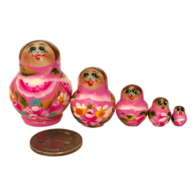 Miniature nesting doll from Russia