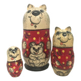 Polar bear nesting dolls