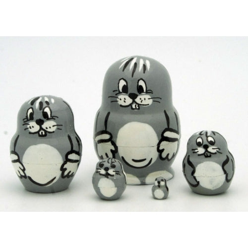 Rabbit Miniature Nesting Set