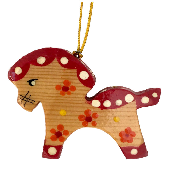 Horse Christmas tree ornament